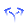 blue arrows icon